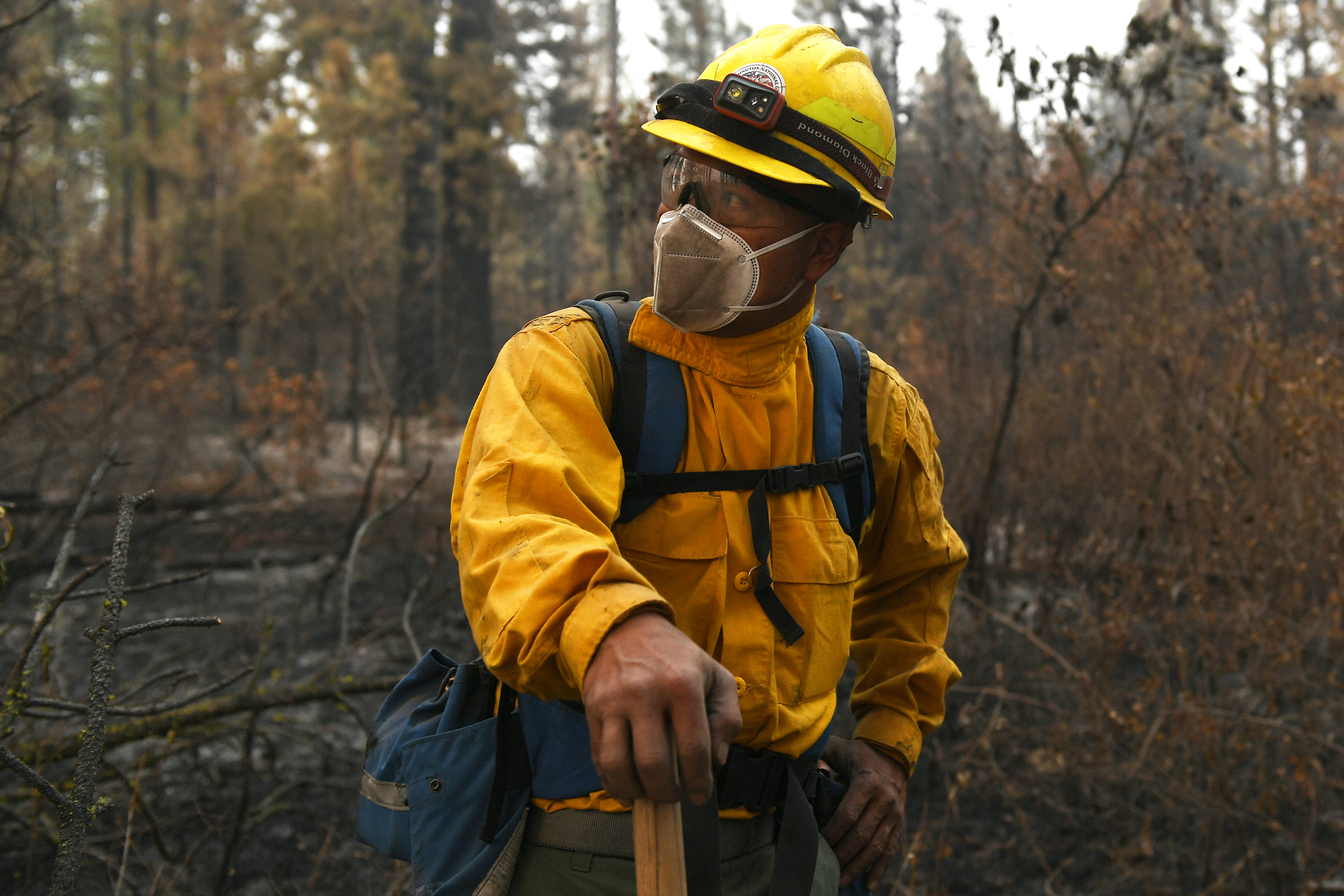 194th Wing fights eastern Washington wildfires